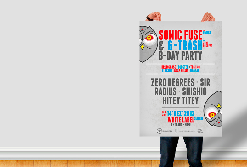 Sonic Fuse & G-Trash B-DAY